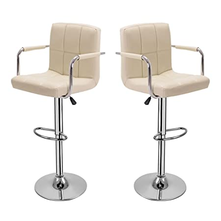 hollylife present father s day 2 set bar stools faux leather bar