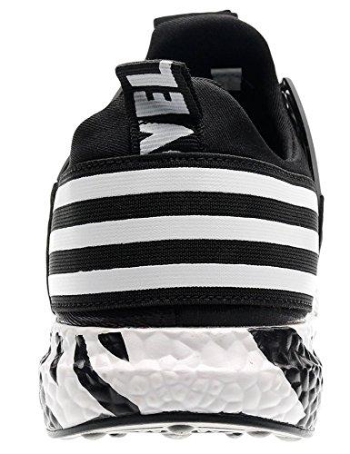 Gimnasio A17 Zapatillas negro Running Hombre Deportivas Zapatillas Zapatillas en T de Hombre IIIIS Hombre Cordones CxO7U
