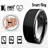 Efanr R3 Smart Ring, Waterproof Dust-proof Fall-proof Wearable Magic App Enabled Rings for NFC Enabled Mobile Cell Phones Android Smartphones (Size 9)