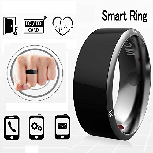 Efanr R3 Smart Ring, Waterproof Dust-proof Fall-proof Wearable Magic App Enabled Rings for NFC Enabled Mobile Cell Phones Android Smartphones (Size 11) by Efanr
