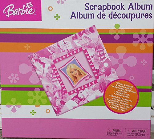 (BARBIE 12 X 12 DELUXE SCRAPBOOKING ALBUM)