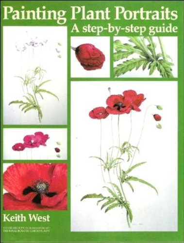 Painting Plant Portraits: A Step-By-Step Guide (Draw Books)