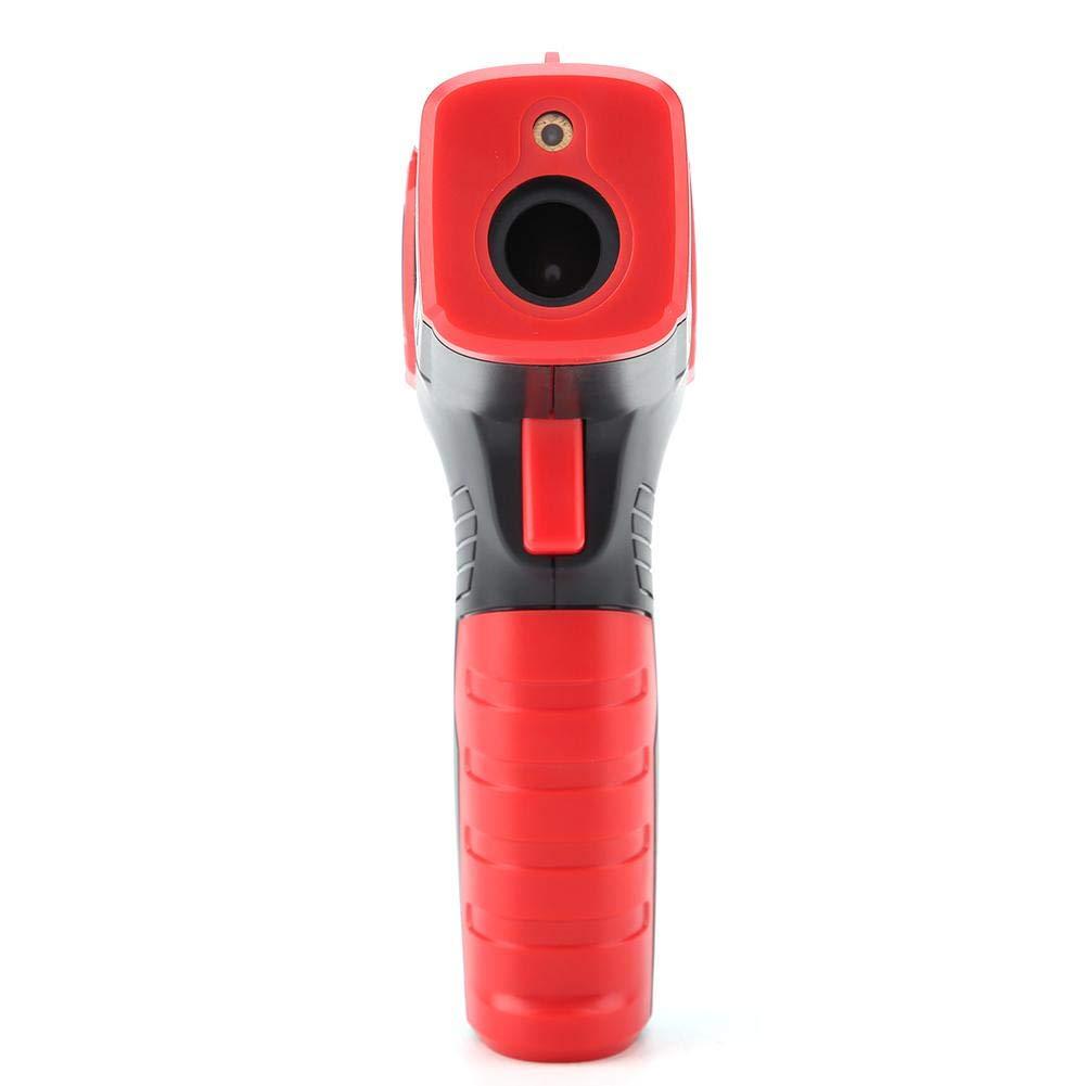 Naroote Termometro a infrarossi,Termometro LCD Igrometro HT650C del termometro a infrarossi tenuto in Mano Digitale LCD del termometro di Temperatura
