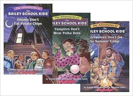 21e2e3705d72 Bailey School Kids Set (3 Books) (Bailey School Kids, #1 Vampires ...