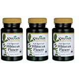Swanson Full Spectrum Hibiscus Flower 400 Milligrams 60 Capsules 3 Pack For Sale
