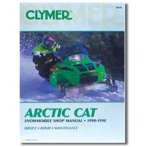 (Clymer Artic Cat Snowmobile (1990-1998) (53007))