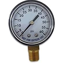 Pressure gauge amazon super pro 80960bu pool spa filter water pressure gauge 0 60 psi bottom altavistaventures Image collections