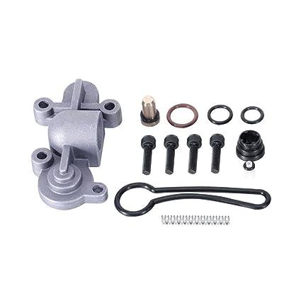 AUXMART Fuel Pressure Regulator Kit Fit 2003-2007 Ford F-Super Duty 6 0L  3C3Z-9T517-AG 3C3Z9T517AG