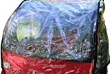 Rain Cover for Kids Trailer Jogger Blue Bird / Kranich / Red Loon