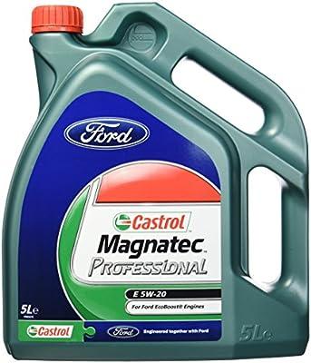 Castrol MAGNATEC Professional 5W-20 E Aceite de Motores 5L: Amazon ...