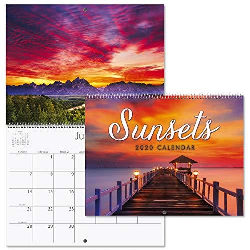 2020 Sunsets Wall Calendar- 12