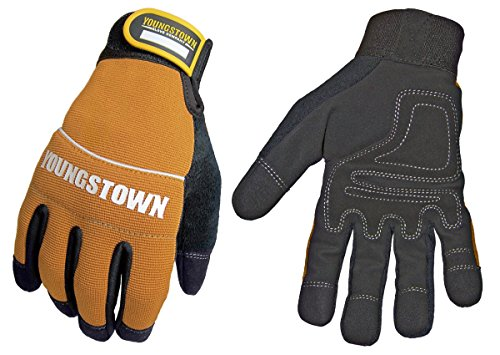 Youngstown Glove 06-3040-70-M Tradesman Plus Performance Glove Medium, Brown