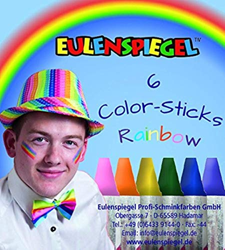 Eulenspiegel rainbow color sticks]()