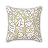 NICEPLW cushion cases of Colorful geometry 20 x 20 inches / 50 by 50 cm,best fit for son,her,bf,teens girls,coffee house,valentine each side