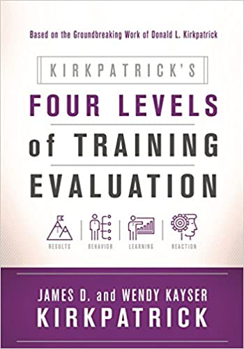 KirkpatrickS Four Levels Of Training Evaluation James D