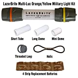 Lazerbrite Multi Lux Orange/Yellow Military Light Kit