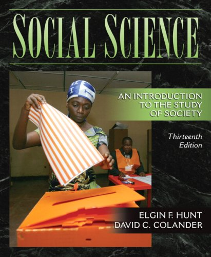 Social Science: An Introduction to the Study of Society (13th Edition)