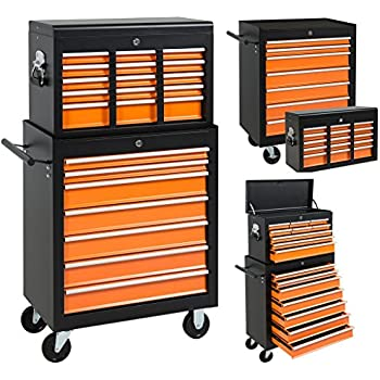 Marvelous Best Choice Products 16 Drawers Tool Cart Top Chest Box Rolling Toolbox  Cabinets