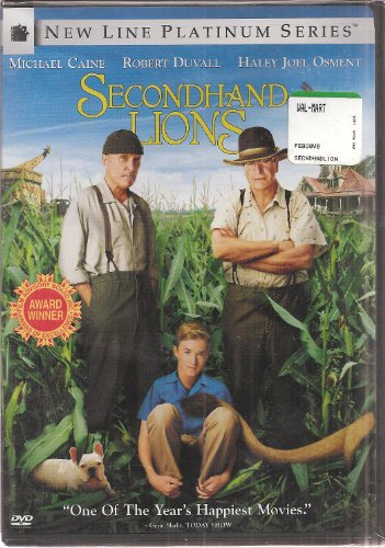Second Hand Lions - DVD Video - Widescreen and Full Screen (New Line Platinum Series)