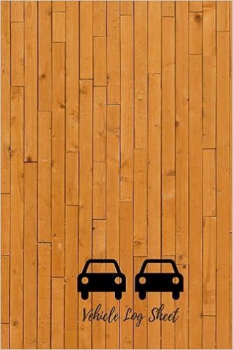 vehicle log sheet mileage log notebook 6in by 9 in log origin