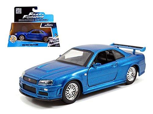 Brian's Nissan Skyline GT-R R34 Blue