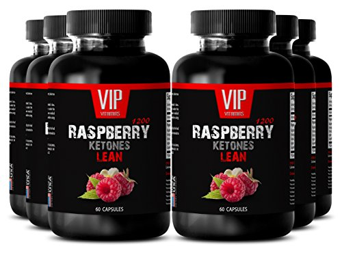 Blood sugar support supplements - RASPBERRY KETONES LEAN 1200 EXTRACT - Blood sugar support supplements - 6 Bottles 360 Capsules by VIP VITAMINS (Image #9)