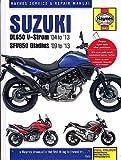 2004-2013 HAYNES SUZUKI DL650 V-STROM 09-13 SFV650 GLADIUS SERVICE MANUAL (5643)