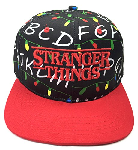 Brand Q Cosplay Stranger Things Themed Hat Cap Snapback Baseball Cap