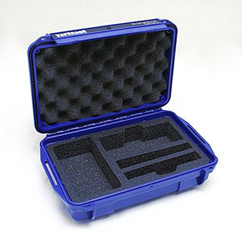 VAPECASE-Hard-Case-Fits-the-Arizer-Solo-BLUE-CASE-BLACK-FOAM
