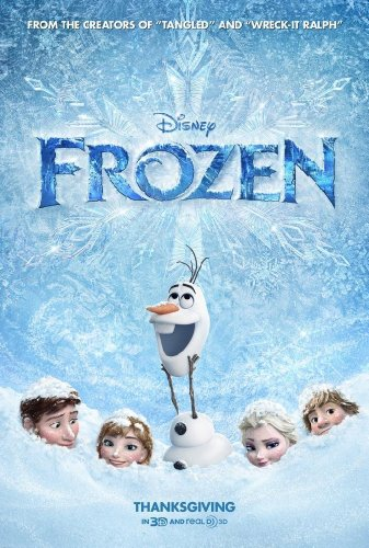 Frozen Poster 11x17 inches Kristen Bell High Quality Gloss P
