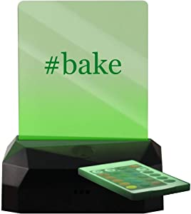 #Bake - Hashtag LED Rechargeable USB Edge Lit Sign