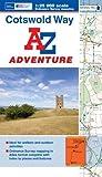 img - for Cotswold Way Adventure Atlas 1:25K A-Z (A-Z Adventure Atlas) book / textbook / text book