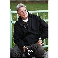 NCIS Mark Harmon as Leroy Jethro Gibbs Close Up Holding Baseball Cap 8 x 10 Photo