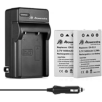 Amazon BM Premium EN EL5 Battery Charger for Nikon Coolpix
