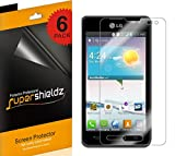 [6-Pack] Supershieldz- High Definition Clear Screen Protector For LG OPTIMUS F3 + Lifetime Replacements Warranty [6-PACK] - Retail Packaging