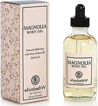 elizabethW Magnolia Body Oil – 4 Ounce