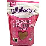 Wholesome Sweeteners Organic Light Brown Sugar -- 1.5 lbs - 2 pc