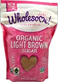 Wholesome Sweeteners Organic Light Brown Sugar -- 1.5 lbs - 2 pc