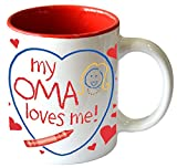 "Gift for Oma's Grandchildren Mug""My Oma Loves Me"""