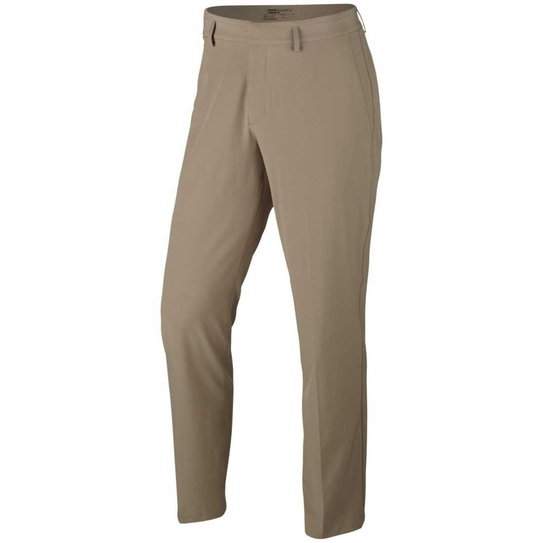 Nike Flat Front Stretch Woven Golf Pants 2017 Khaki/Anthracite 35/34 by Nike