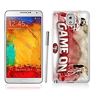 Victor Sports NFL San Francisco 49ers Samsung Galaxy Note 3 Case for Sports Fans-Chritmas Gift, Samsung Galaxy Note 3 Hard Cover