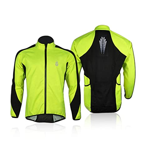 Image Unavailable. Image not available for. Color  docooler Fleece Thermal  Cycling Long Sleeve Jersey Winter Outdoor Sports Jacket ... a8762ebb4