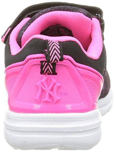 Garçon Noir Yankees Baphomet 198 Fluo Basses Black Pink Baskets York New THxqBT
