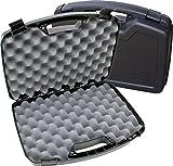 MTM Case-Gard Two Pistol Handgun Case, Black