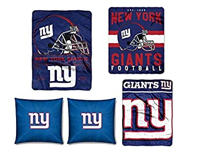 Amazon The Northwest Company NFL New York Giants 40pc Ensemble Enchanting Nfl Blankets And Throws