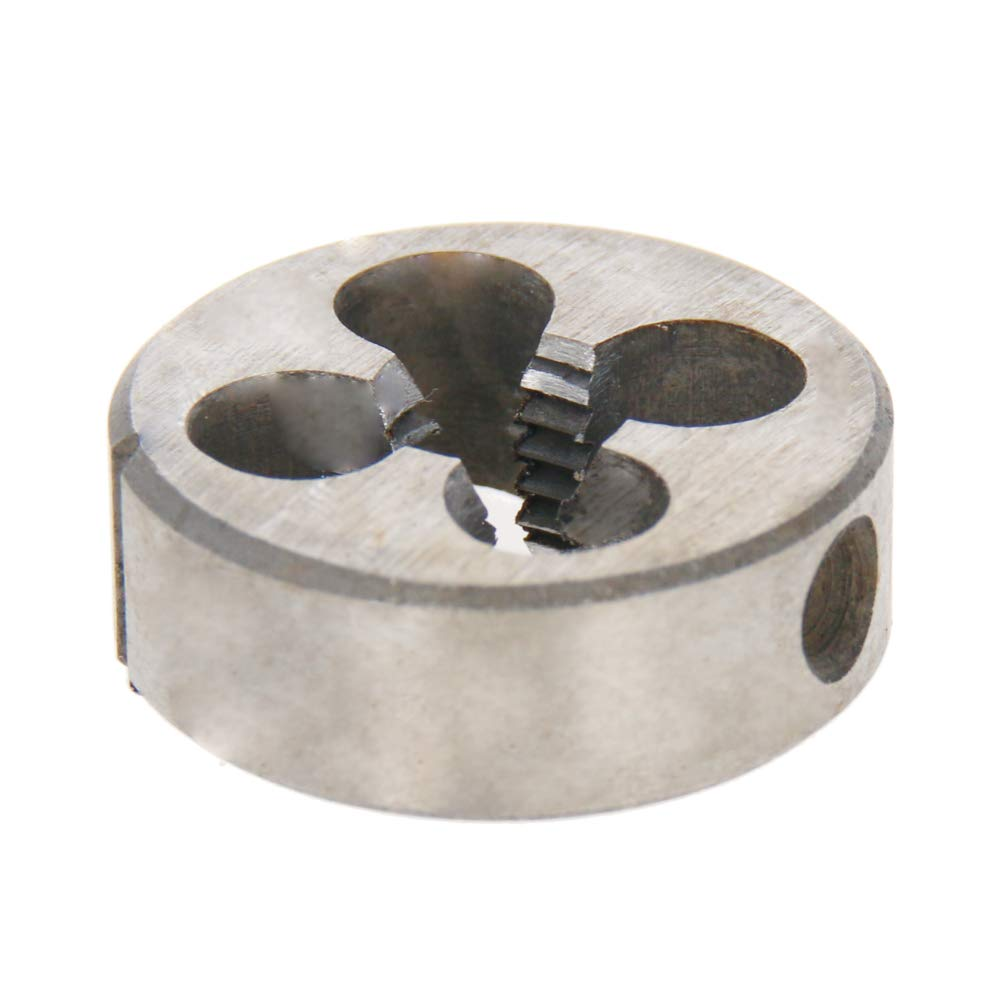 Utoolmart M8/×1.25mm Hand Round Adjustable Threading Die High Speed Steel Metric Machine Thread Die Screw Die Tool 1pcs