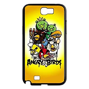 Angry Birds Samsung Galaxy N2 7100 Cell Phone Case Black DIY Gift pxf005_0280793