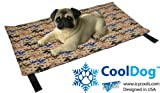 CoolDog Reusable Ice Mat for Keeping Dogs Cool in Summer