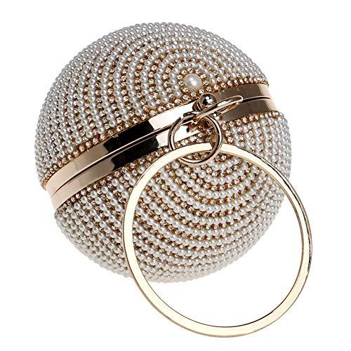 Femme Soiree Bal Bourse Bandouliere Mariage Pour Fête Chaîne Pochette À Clutch Gold Sac Main Maquillage wE8pxrqw1