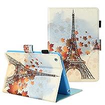 TKOOFN Case , Wallet Soft Slim PU Leather Case [Card Cash Slot] Magnetic Closure Folio Flip Kickstand Cover